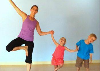 Yoga pour enfants au centre pluridisciplinaire Haptis à Perwez